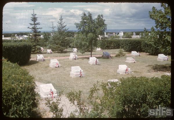 Veteran's Memorial Gardens..  Shaunavon.  06/27/1957