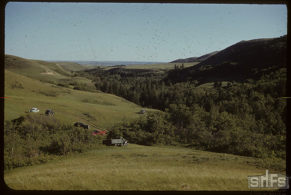 South Fork Valley. Day of School Picnic.  South Fork.  06/08/1952