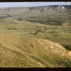 Valley of the Frenchman. W. from Rim. With Crawley Film.  Eastend.  06/21/1954