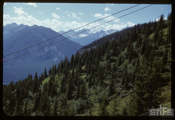 Mountain scene..  Banff.  07/29/1951