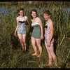 Wanda Vasseur & Myrna Metka and Coleen Briggs.  Swift Current.  07/10/1957