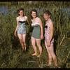Wanda Vasseur & Myrna Metka and Coleen Briggs.  Swift Current.  07/10/1957