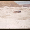 Al Vogt and Jack Currie at white mud mine.  Eastend.  05/15/1956