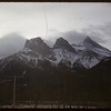 Three Sister Mountain.  Banff.  01/14/1958