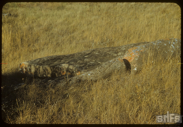 Rocks. East side S.F.Valley. S.E. of Shaunavon Lease.  South Fork.  10/09/1954