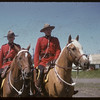 Pionera - Mounties on horse back.  Saskatoon.  07/06/1955