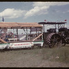 Homemakers jubilee float with Spence tractor.  Val Marie.  06/06/1955