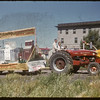 Jubilee Fair Parade - Wheat Pool Float.  Shaunavon.  07/26/1955