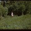 Anne Parker Picking Wild Flowers.  Klintonel.  06/30/1957