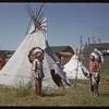 Native presentation at Pionera. Saskatoon 07/06/1956