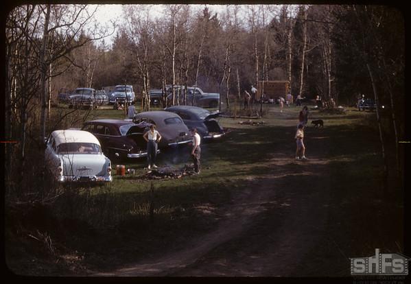 Pine Cree Park.  South Fork.  05/20/1956