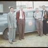 Federated Co-op officials visit co-op school.  Swift Current.  07/10/1952