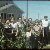 Peter Lewan's family and Joe Sand..  Shaunavon.  08/24/1954
