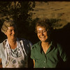 Mrs Joe White and Ethel..  Shaunavon.  08/23/1957