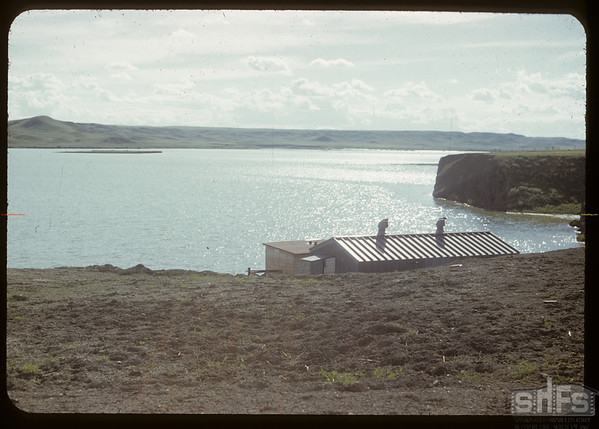 Pumping station & west dam.	 Val Marie.	 06/21/1951