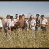 Test plot boys.  Swift Current.  08/11/1955