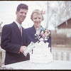 Dorothy Cameron - Don Hamilton wedding.  Shaunavon.  05/16/1953