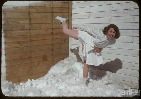 Skating Club - Jacquline Beggs.  Shaunavon.  03/21/1950