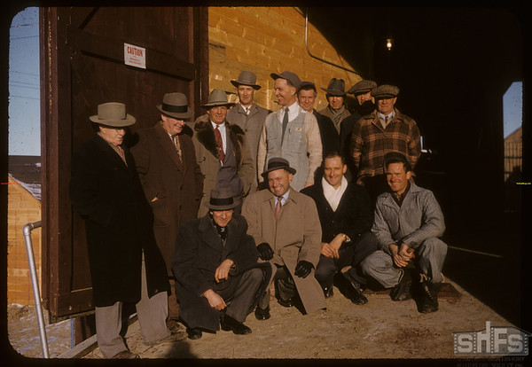 Official opening new elevator.  Shaunavon.  11/21/1957