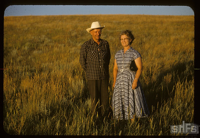 Mr & Mrs Harry Wickstrom, Admiral,  08/05/1955