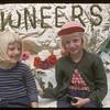 Shaunavon Fair - Dynesson girls.  Shaunavon.  07/27/1955