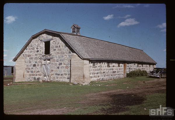 Beckton brothers - Didsbury barn. Cannington Manor. 08/23/1959