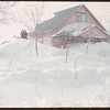 Jimmy Swailes snow covered home.  Shaunavon.  03/19/1951