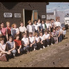 Co-op school attendees.  Swift Current.  07/13/1955