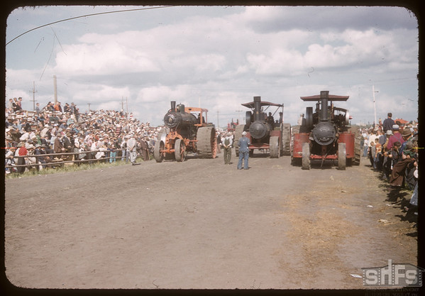 Pionera - Steam engine race. Saskatoon 07/04/1956