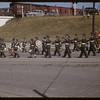 Pionera Jubilee Parade - Air Cadet Band.  Saskatoon.  07/06/1955