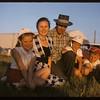 Murdie McRae family (Co-op Fieldman).  Shaunavon.  07/23/1957