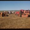 S.C. Co-op School sees big machinery Matador Co-op Farm.  Matador.  07/08/1953