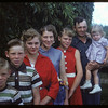 The Walter Thomas family.  Wood Mountain.  08/07/1954