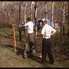 Phil Ganley & Norris Ayers - Pine Cree Park..  Shaunavon.  05/20/1956