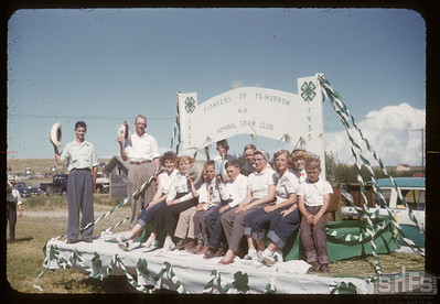 Admiral 4-H with leader Jim Cooper,  08/05/1955
