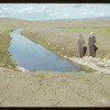 Beginning of main canal - west dam.  Val Marie.  06/21/1951