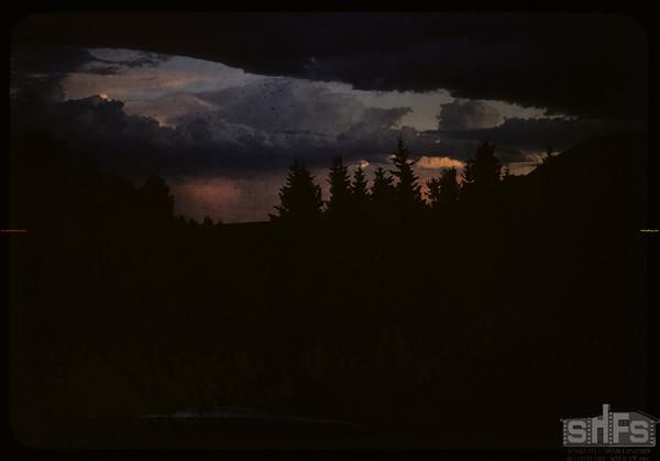 Pine Cree Park [sunset]. South Fork. 07/25/1956