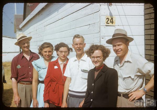 Co-op school - last morning.  Swift Current.  07/11/1953