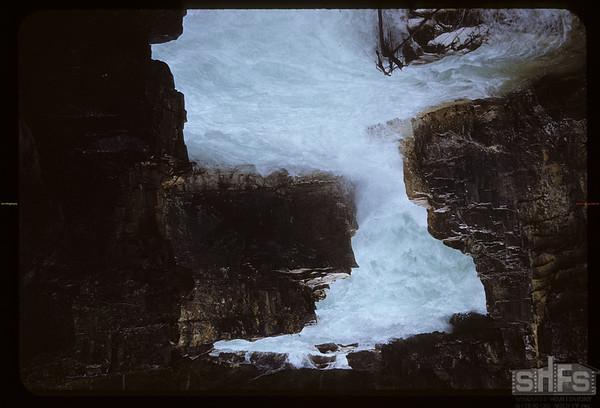 Marble Canyon Falls.  Kooteney N. P..  07/28/1951