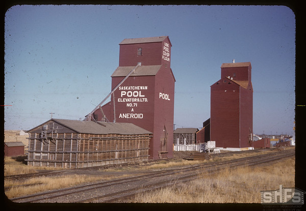 Official opening - new elevator annex. Aneroid   10/21/1955