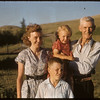 Mrs Marjory Harrom & Dad. S. F. Pic..  South Fork.  06/10/1956