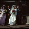 Shirley - Roberts wedding.  Shaunavon.  04/12/1950