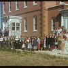 Convent students and staff.  Val Marie.  10/05/1954