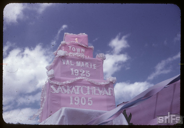 Town of Val Marie jubilee.  Val Marie.  06/06/1955