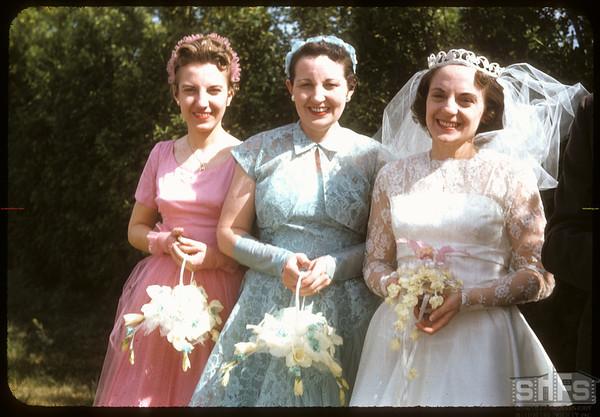 Hall - Jameison wedding.  Shaunavon.  06/01/1957