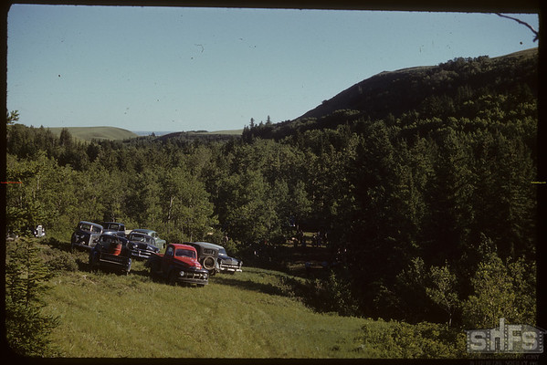 S. Fork Valley. School Picnic.  South Fork.  06/08/1952