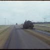 Oiling road waet of Shaunavon..  Shaunavon.  10/09/1954