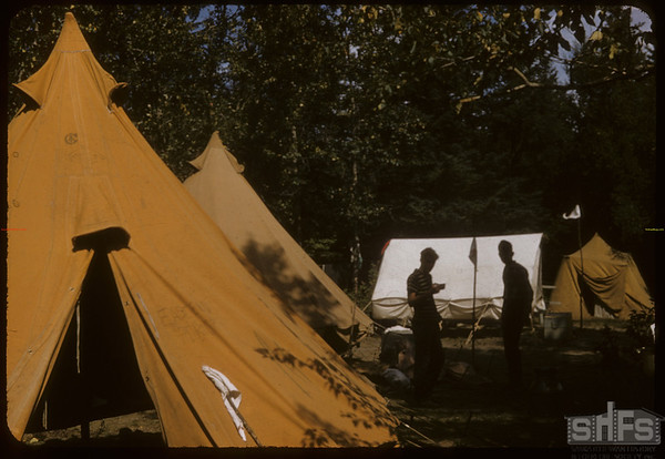 Eastend Boy Scouts in S. F. Valley.  South Fork.  08/24/1957