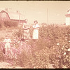 Mrs. William Voll and Dixie lee and Ruth Baker at Voll home..  Shaunavon.  08/12/1953