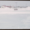 Snow in the town.  Shaunavon.  03/19/1951